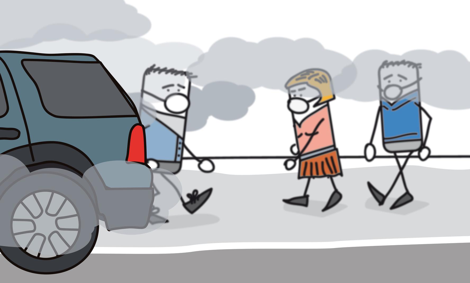 Pollution de l'air. Tous les jours, il en est question, alors, subir ou agir ?