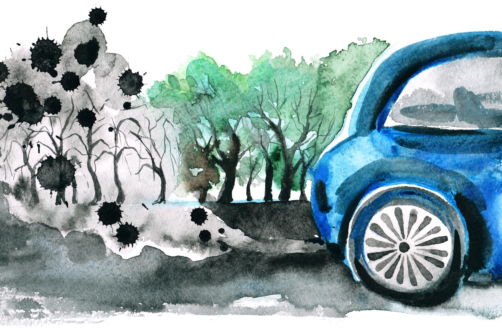 Vivre près d'un axe routier et le développement de démence