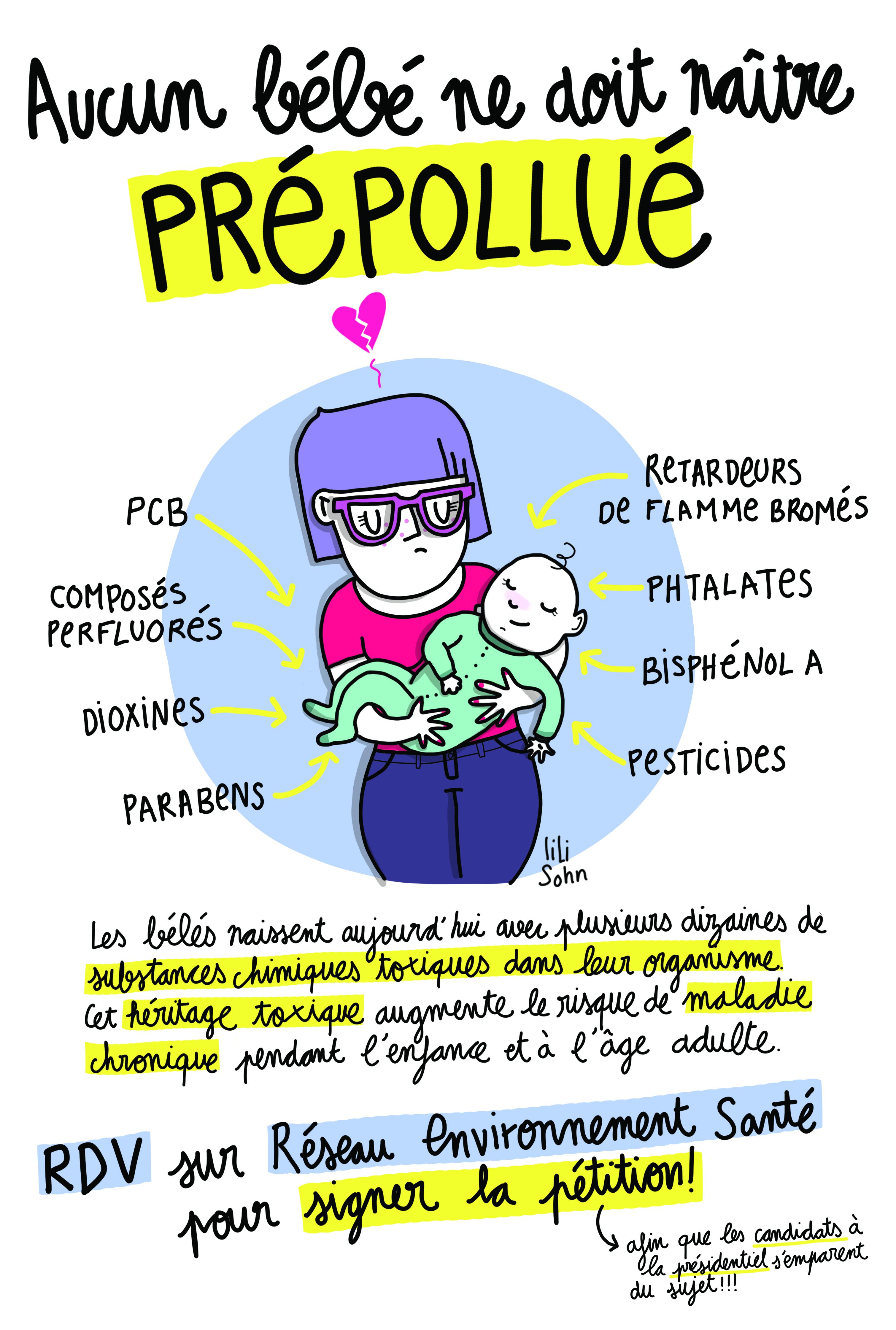 COMMUNIQUE DE PRESSE  « Aucun bébé ne doit naître pré pollué »