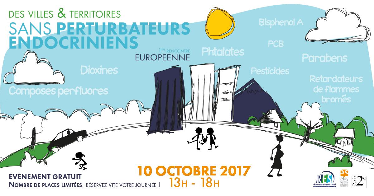 Les actes du colloque «Villes et Territoires sans Perturbateurs Endocriniens» (10 octobre 2017)