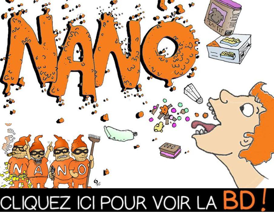 Une mini BD pédagogique sur les nanos !