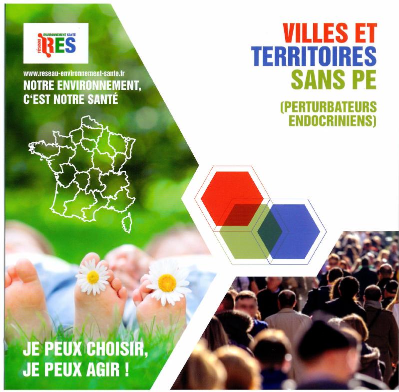 La charte d'engagement «Villes & Territoires sans perturbateurs endocriniens»