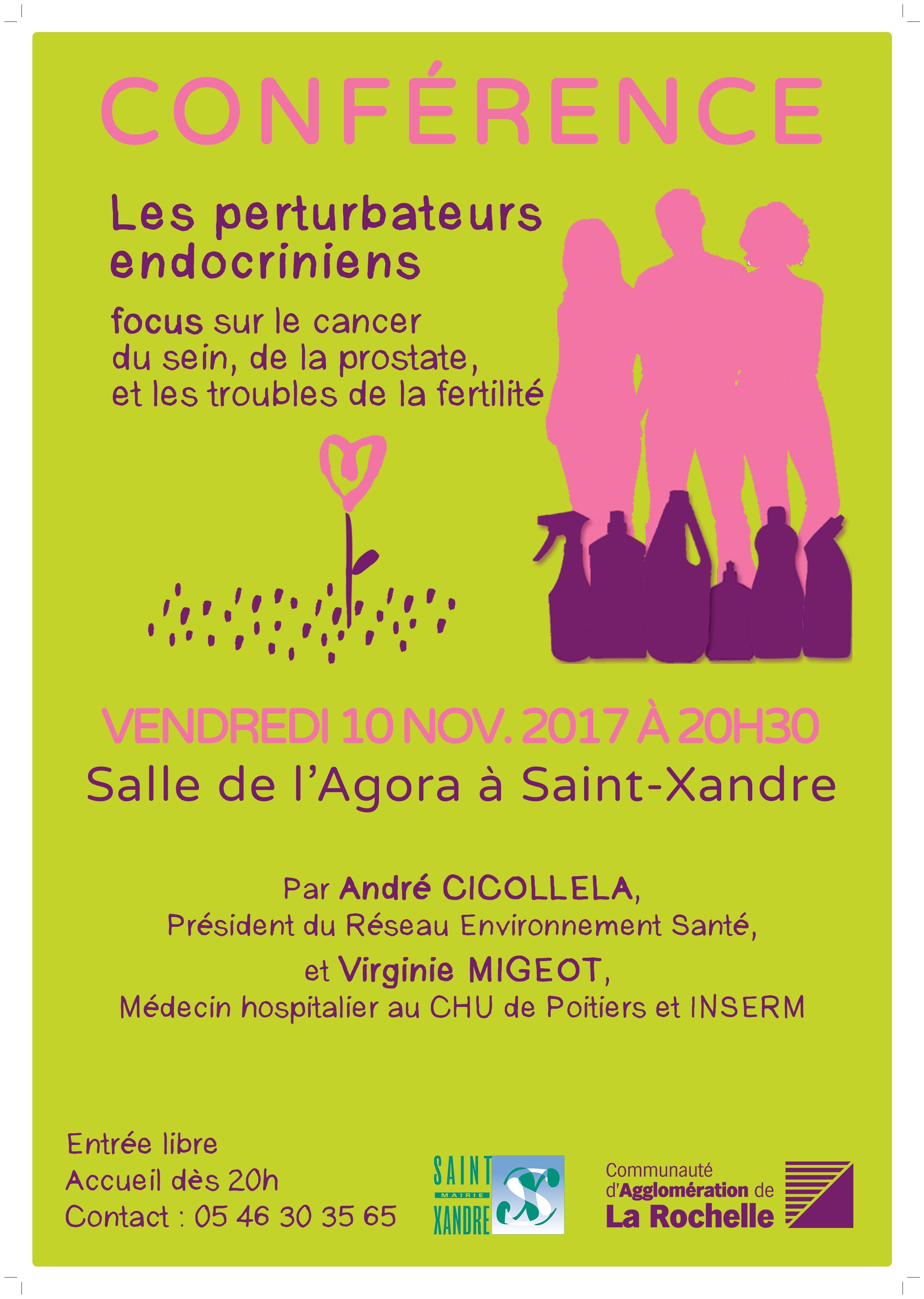 Saint Xandre – Conférence sur les perturbateurs endocriniens