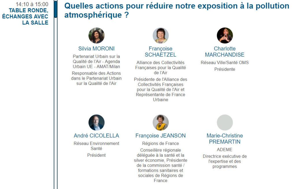 Fil vert. Premières Rencontres internationales Air Climat Santé à Toulouse