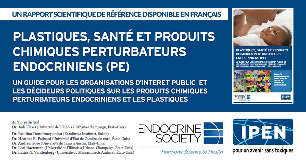 Plastiques, santé et produits chimiques perturbateurs endocriniens