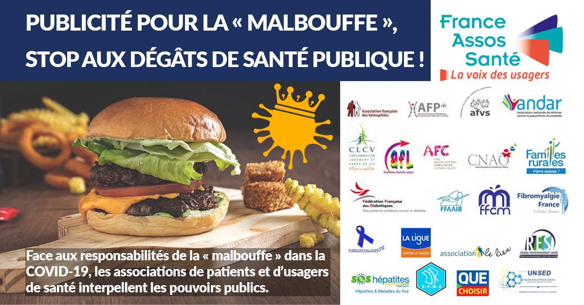 CP] Publicité pour la « malbouffe », stop aux dégâts de santé publique ! -  Réseau Environnement Santé